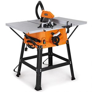 Best Budget Table Saw Vonhaus 1800w 10 250mm With Underframe Review