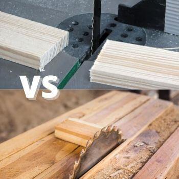 table saw vs band saw