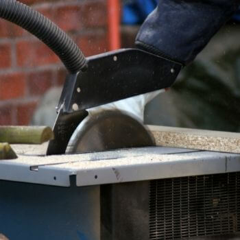 who invented the table saw and when did it happen?